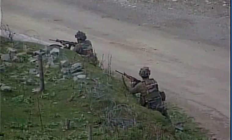 kashmir, infiltration atempt, Pakistan, LoC, Uri, naugam, Indian army,