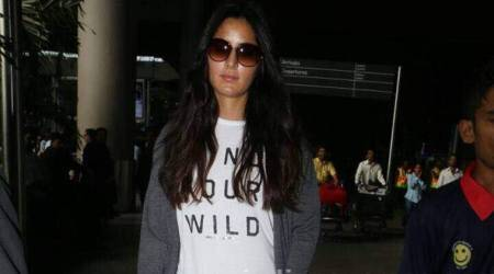 Katrina Kaif returns to Mumbai after shooting for Thugs of Hindostan, see photo