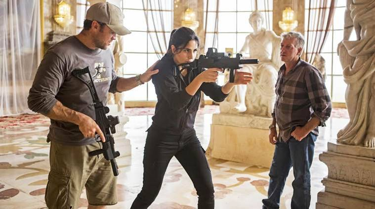 Katrina Kaif shoots for fighting scenes in 'Tiger Zinda Hai'