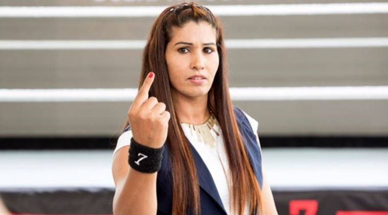 Wrestler Kavita first Indian woman in WWE