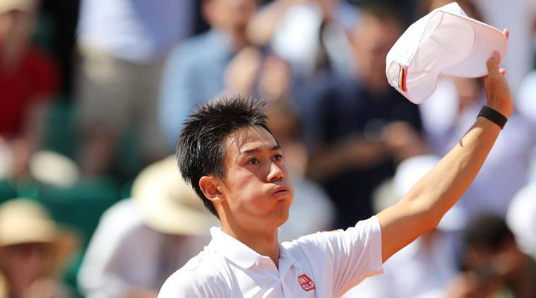 French Open 2017, Kei Nishikori, Indian Express