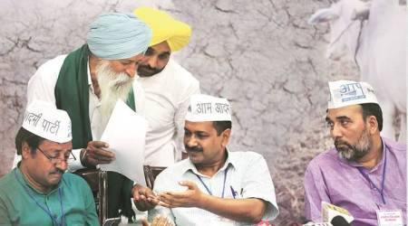 AAP Punjab Leader Files Complaint Against Kejriwal
