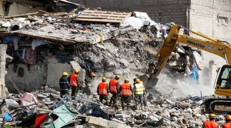 Building collapses in Nairobi, 15 missing