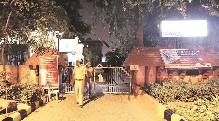 Kerala House, Kerala House delhi,  Jantar Mantar Road, kerala house security, latest news, indian express