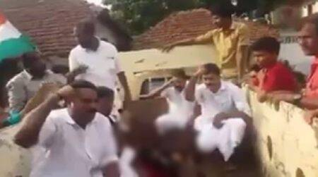 Kerala calf slaughter: 8 suspended Youth Congress leaders arrested bypolice