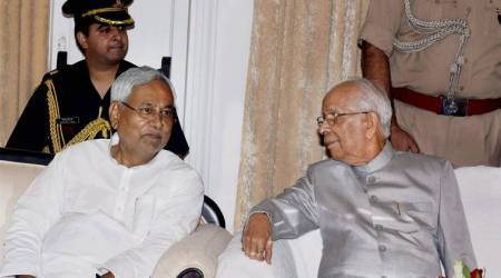 Keshri Nath Tripathi takes oath as Bihar Governor