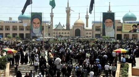 iran attack, iran shrine, khomeini shrine, Ayatollah Khomeini, iran parliament attack, iran news, indian express news