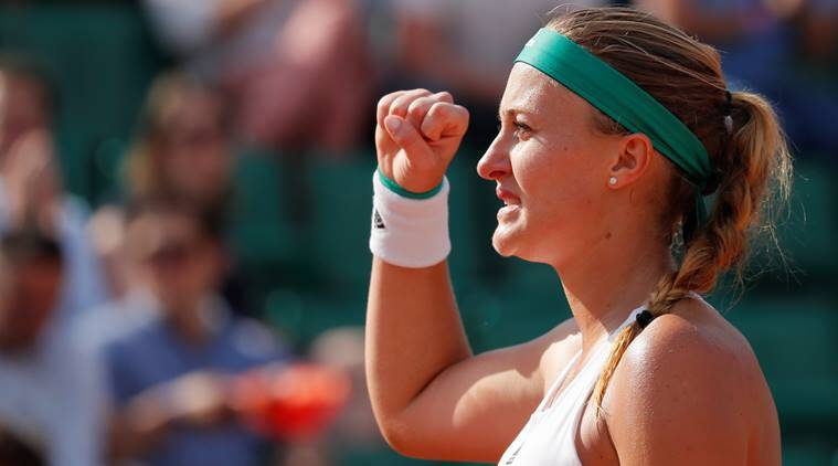 Kristina Mladenovic upsets defending champion Garbine Muguruza at French Open