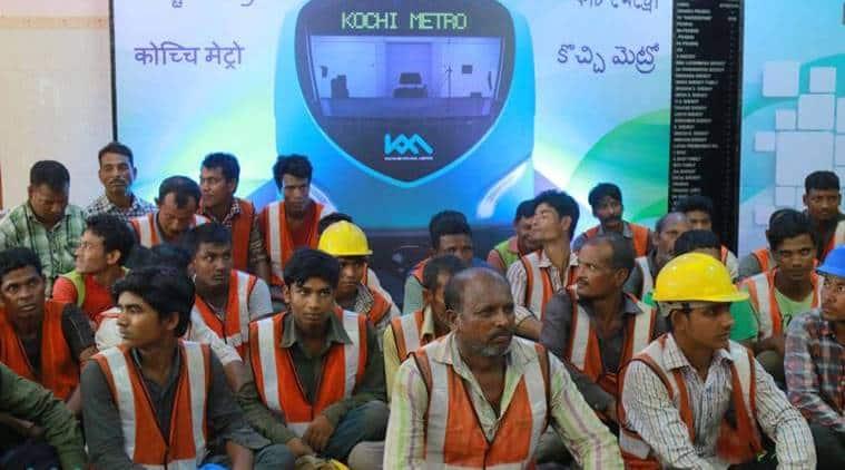 kochi, kochi metro, kochi metro rail, kochi metro workers, india news