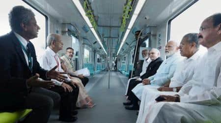 kochi metro, pm narendra modi, Kummanam Rajasekharan, pinarayi vijayan, cpm, bjp, kerala bjp, modi-kochi metro, kerala news, indian express