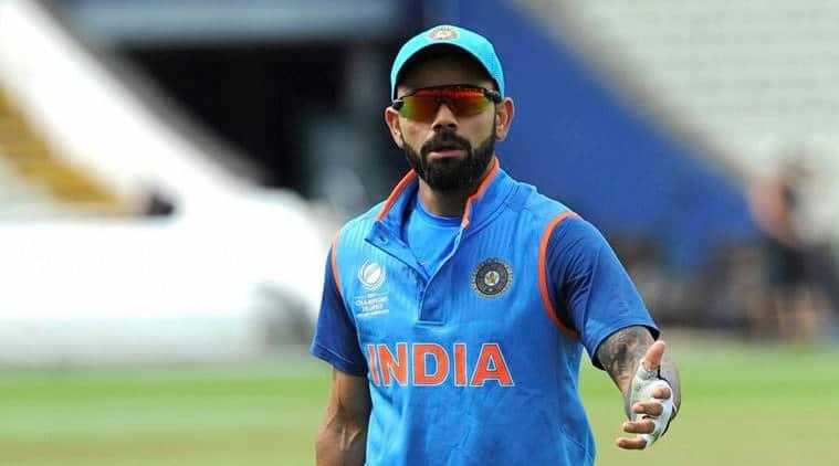 virat kohli, India vs Pakistan, ICC Champions Trophy 2017, indian express