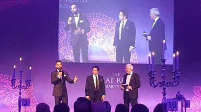 Virat Kohli hosts charity ball in London; Sachin Tendulkar, MS Dhoni, Anil Kumble, Vijay Mallya attend; see inside pics