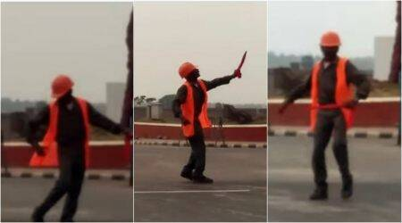 WATCH: This dancing traffic guard in Kolkata is winning hearts on the Internet with his quirky moves