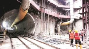 Kolkata Metro: Tunnelling under Hooghly over