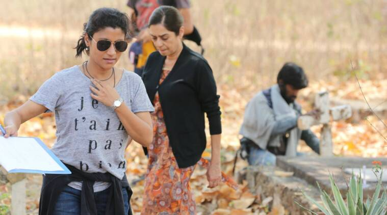 a death in the gunj, a death in the gunj konkona sen sharma, konkona sen sharma a death in the gunj, a death in the gunj behind the scenes, a death in the gunj on sets