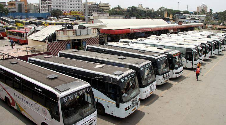 Commuters suffer as buses, taxis stay off roadsin Kerala
