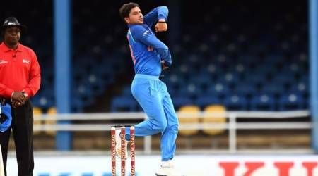 Kuldeep Yadav repeats Test debut heroics in ODI against West Indies