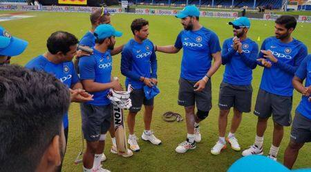 India vs West Indies, 2nd ODI: Kuldeep Yadav gets ODI cap from Yuvraj Singh