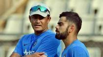 Kohli deletes his welcome tweet for Kumble