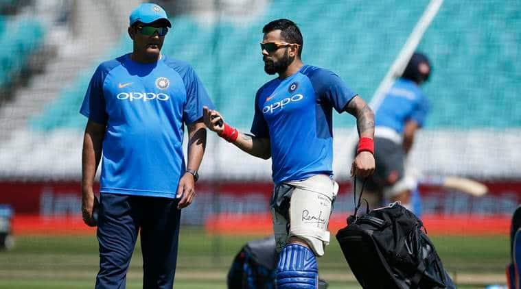 Anil Kumble, India coach, Virat Kohli, kumbe kohli, virender sehwag, kumble kohli fight, cricket news, cricket, sports news, Indian Express