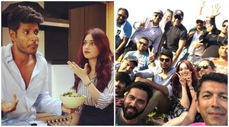 Tamannaah and Sundeep Kishan's untitled film directed by Kunal Kohli wrapped up. See photos