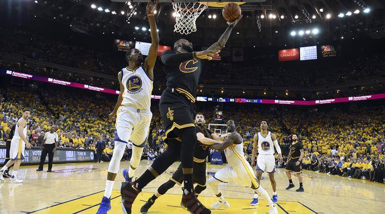 LeBron James, Cleveland Cavaliers, Golden State Warriors, Kevin Durant, NBA Finals