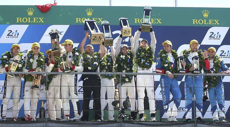 Le Mans, Porsche, Timo Bernhard, Brendon Hartley, Earl Bamber, sports news, sports other news, indian express