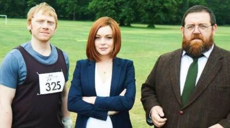 Lindsay Lohan to join hands with Harry Potter actor Rupert Grint in a comedy show SickNote