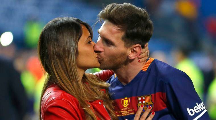 Football star Lionel Messi weds his childhood sweetheart