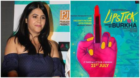 Ekta Kapoor on Lipstick Under My Burkha: Not CBFC, middle finger on poster is for the society