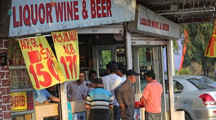 liquor shop vandalised, tamil nadu liquor, tamil nadu vandalisation liquor, indian express, india news