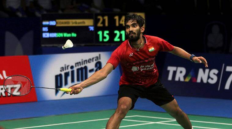 kidambi srikanth, australia super series, badminton news, sports news, indian express