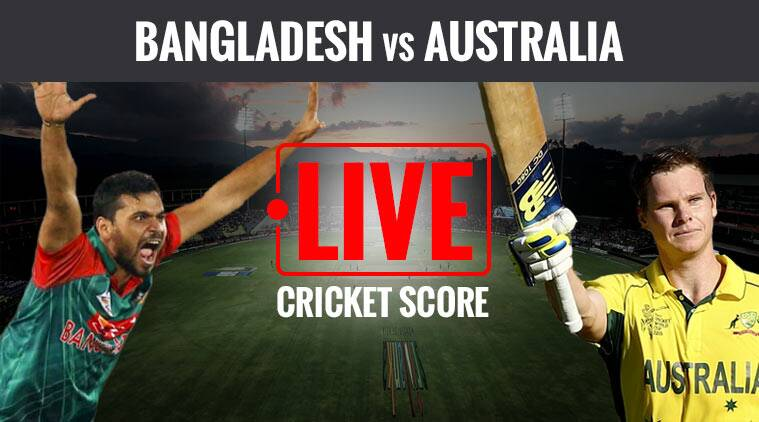 australia vs bangladesh, aus vs ban, icc champions trophy, indian express