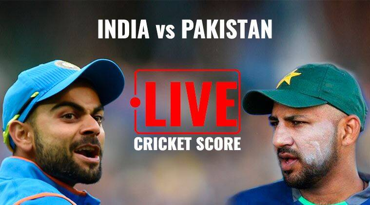 Image result for cricket live score india vs pak