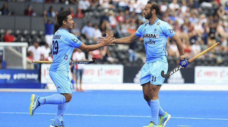 india vs canada, ind vs can, hockey world league, sports news, hockey news, indian express