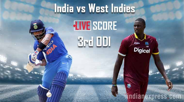 India Beat West Indies By 93 Runs In Third Odi Match
