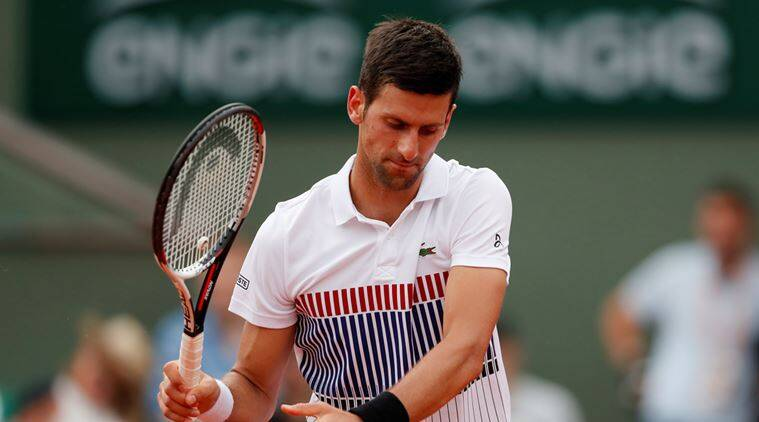 Novak Djokovic, French Open, indian express