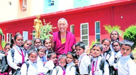 How a monk brought children out of slums to schools