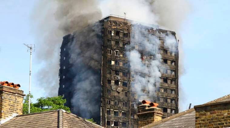 london fire, london building fire, london apartment fire, london apartment tower fire, building fire london, world news, london news