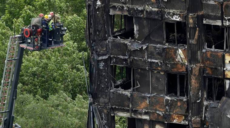 london fire, london, london building fire, london fire accident, building fire london, london council evacuates, world news, latest world news, indian express, indian express news