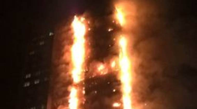 Many feared dead as massive flames engulf 24-storey tower in London