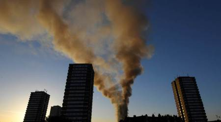 More UK buildings fail fire tests as politicians tradeblame