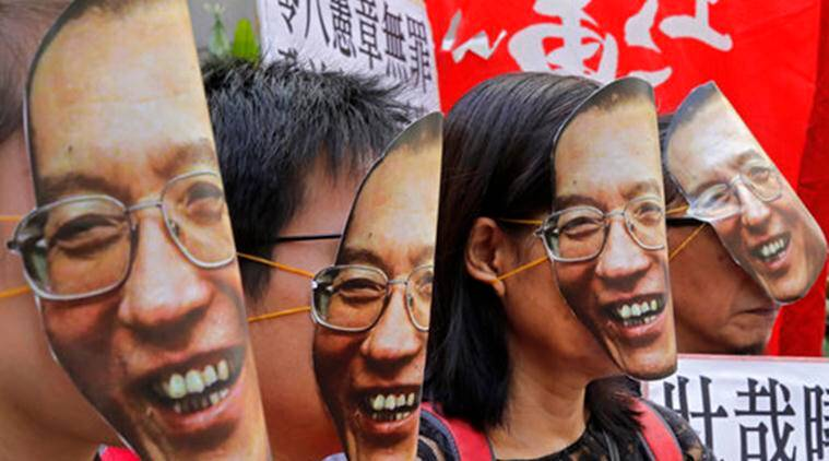 Liu Xiaobo, Chinese Nobel rights activist Liu Xiaobo,  Liu Xiaobo Jailed, Liu Xiaobo's cancer, World News, Latest World News, Indian Express, Indian Express News