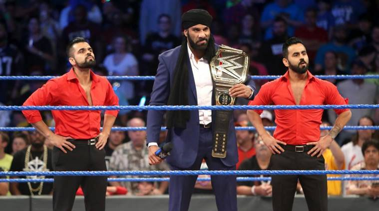 jinder mahal, mahal, randy orton, orton, wwe smackdown, Xavier Woods, wwe smackdown results, sports, indian express