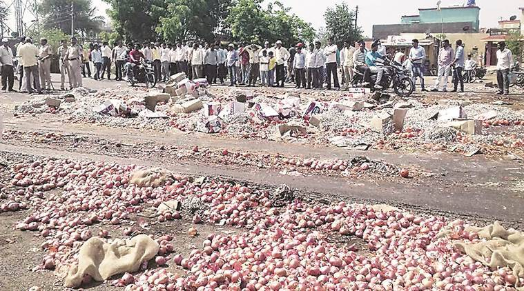 maharashtra farmers strike, loan waiver, farmer loan waiver, Farmer Protests, indian express news, india news, latest news