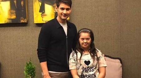 Spyder actor Mahesh Babu takes time off his vacation to meet a 14-year-old fan suffering from down syndrome, see photo