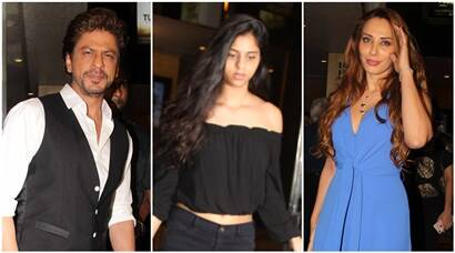 Shah Rukh Khan, daughter Suhana Khan attend Tubelight screening, Salman Khan's rumoured girlfriend Iulia Vantur adds glam