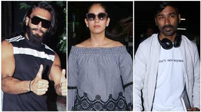 Dhanush is in Mumbai for VIP 2, Mira Rajput turns heads, Ranveer Singh and Ranbir Kapoor also spend a busy weekend