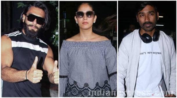 Dhanush, VIP 2, Mira Rajput, Ranveer Singh, Ranbir Kapoor, Kareena Kapoor Khan, Athiya Shetty, bollywood photos, indian express