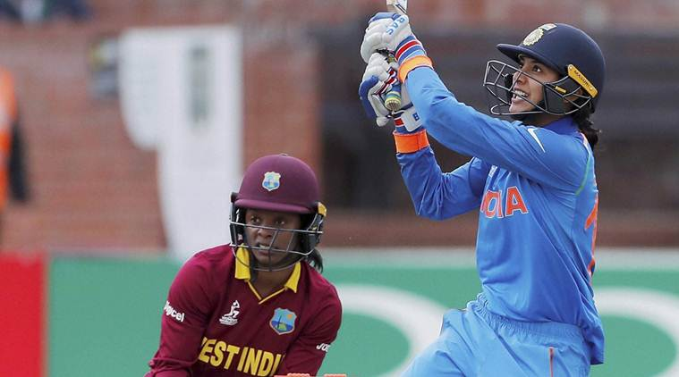 smriti mandhana, icc women's world cup, india women vs pakistan women, india vs pakistan, cricket news, sports news, indian express